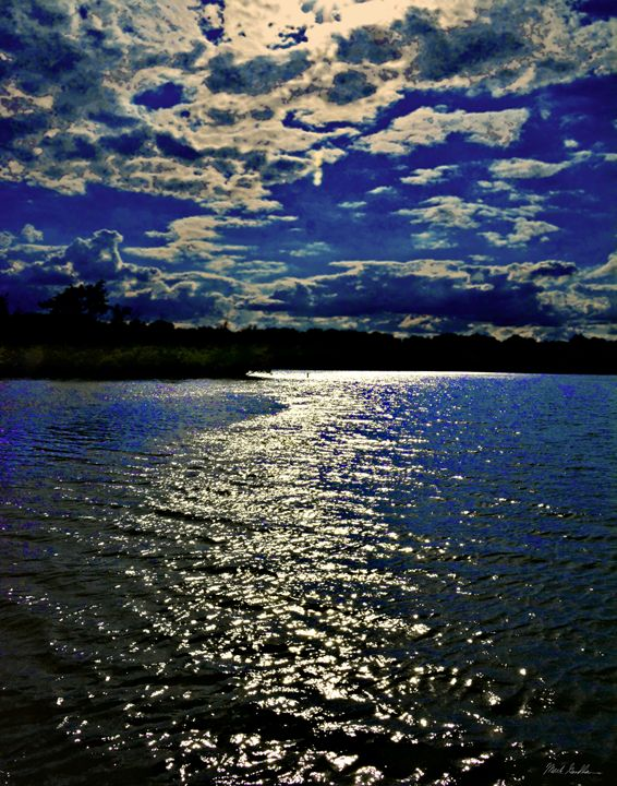 Blue Waterscape - Mark Goodhew Photography
