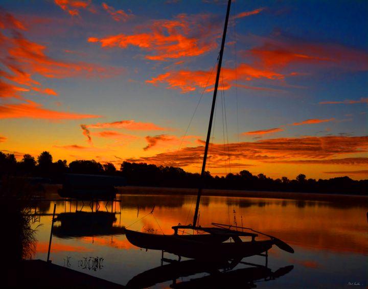 Sailboat Sunrise - Mark Goodhew Photography