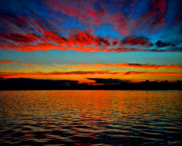 Windswept cloud sunset - Mark Goodhew Photography