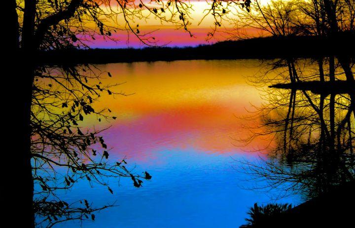 Rainbow Sunset - Mark Goodhew Photography
