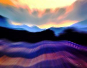 Alaska3 landscape abstract
