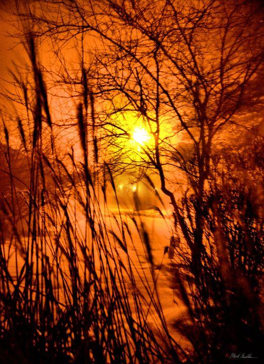 Winter night lights - Mark Goodhew Photography
