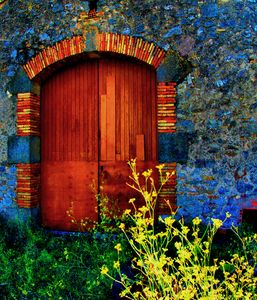 Barn Door Homps France
