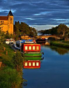 Canal Du Midi _Homps France