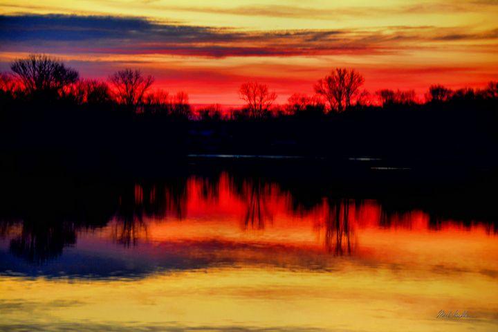 Winter sunset2 - Mark Goodhew Photography