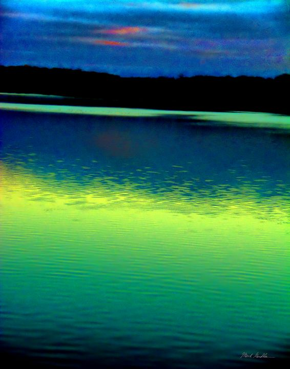 Cool Water reflections - Mark Goodhew Photography