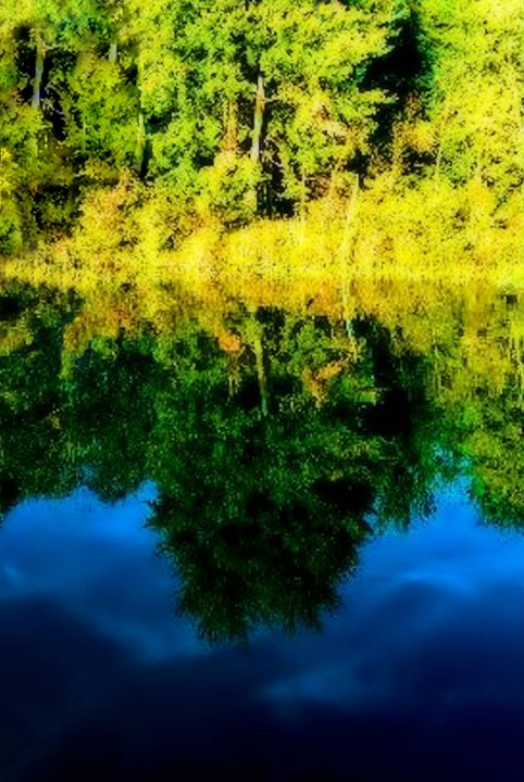 Sky Reflections - Mark Goodhew Photography