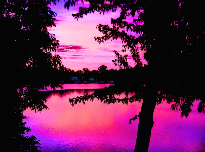 Pink Sunrise - Mark Goodhew Photography