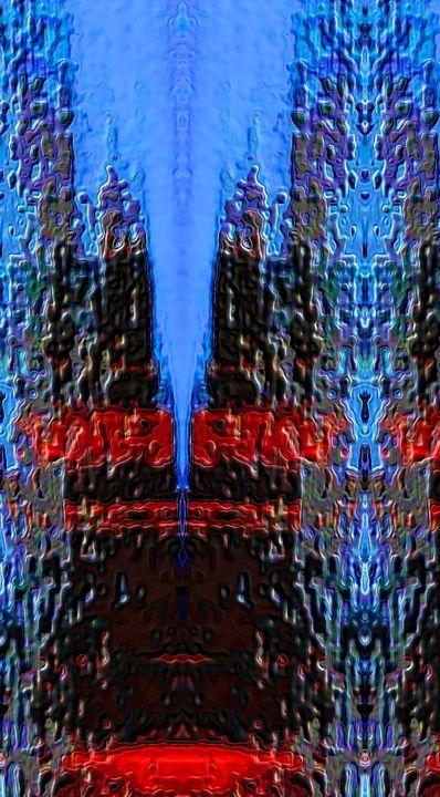 Rainy Sunset abstract - Mark Goodhew Photography