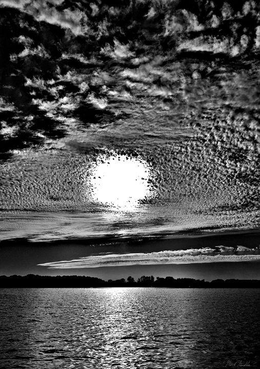 Sunset B&W - Mark Goodhew Photography