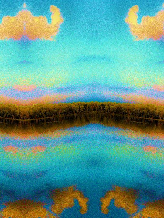 Aqua Lake mirror_reflection 3 - Mark Goodhew Photography