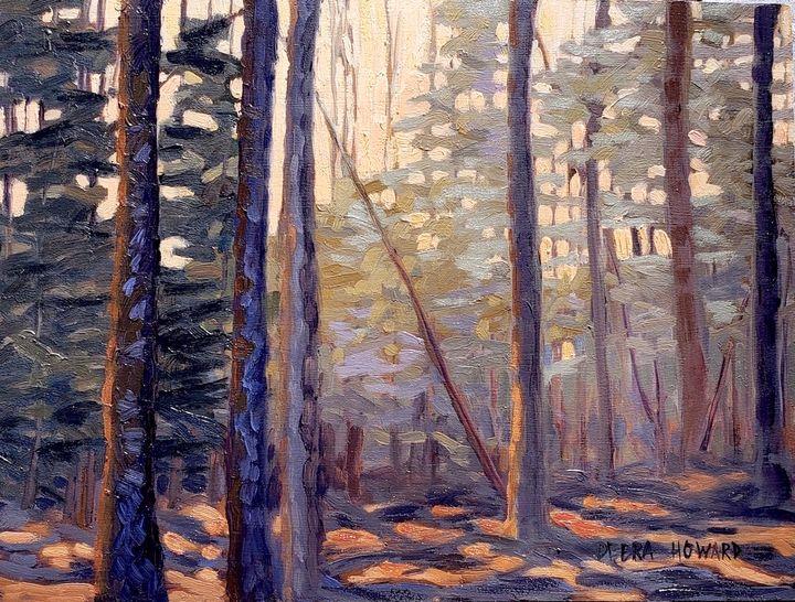 Morning Walk in the Woods - Debra Howard