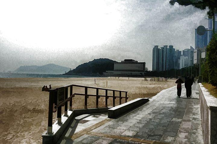 Busan Pier - Visionary Skies