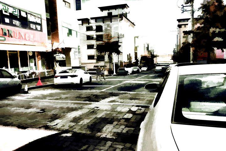 Downtown Walk-Daegu - Visionary Skies