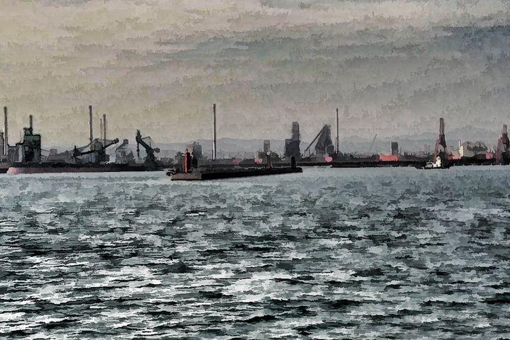 Pohang Pier - Visionary Skies