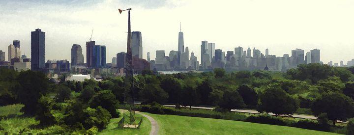 Overlook NYC Skyline 2 - Visionary Skies