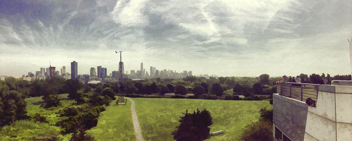 Overlook NYC Skyline 1 - Visionary Skies
