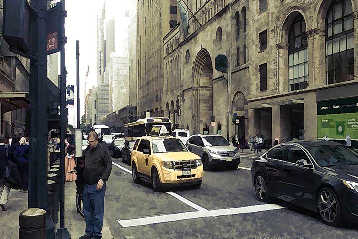 NYC Traffic - Visionary Skies