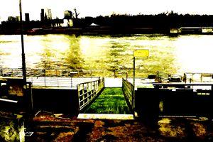 Ferry Docks - Visionary Skies