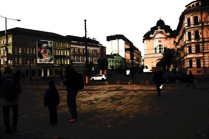 Town Shadows - Visionary Skies