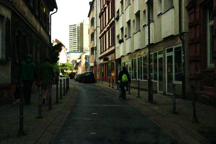 Alley Strolling - Visionary Skies