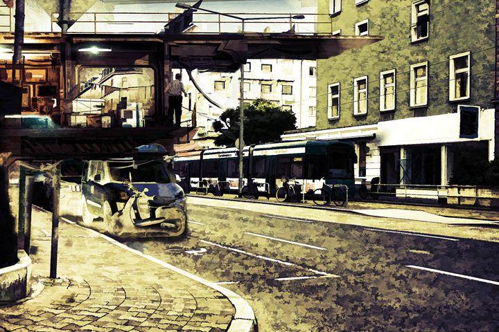 Metro Docking Station - Visionary Skies