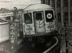 NYC M Train