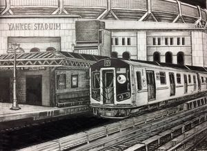 Yankee Stadium 4 Train