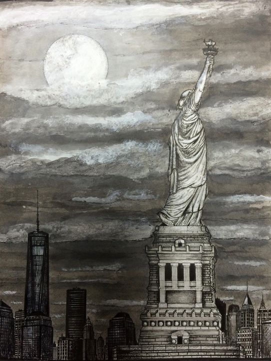 Lady Liberty - Michael Kelsch