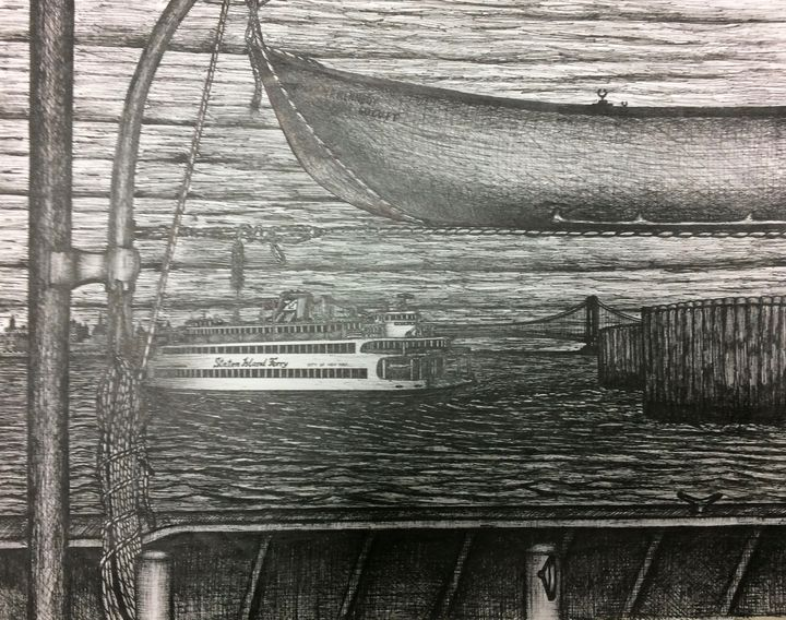 SI Ferry rescue boat view - Michael Kelsch