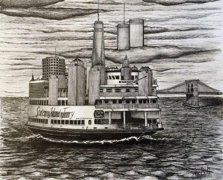 SI Ferry Skyline - Michael Kelsch