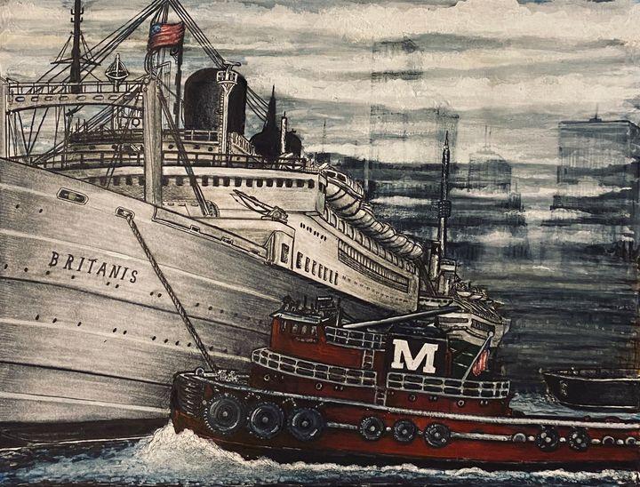 Harbor Tug - Michael Kelsch