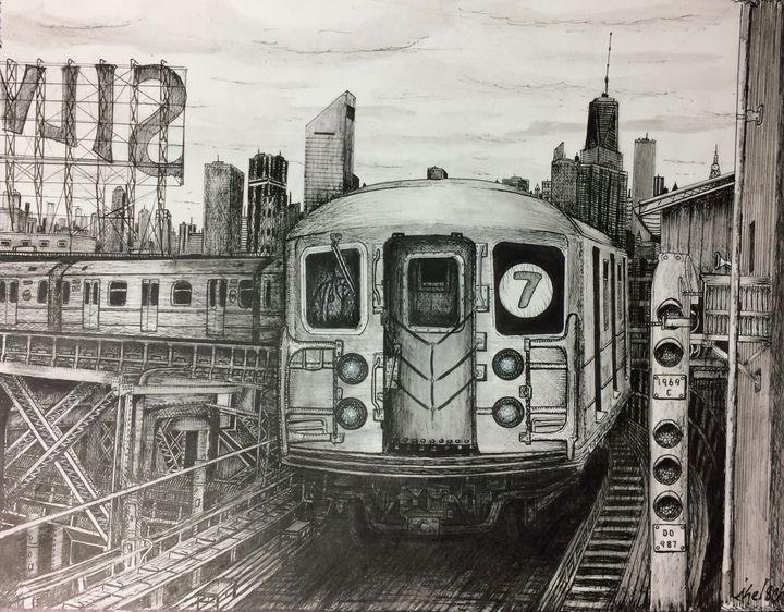 NYC 7 Train - Michael Kelsch