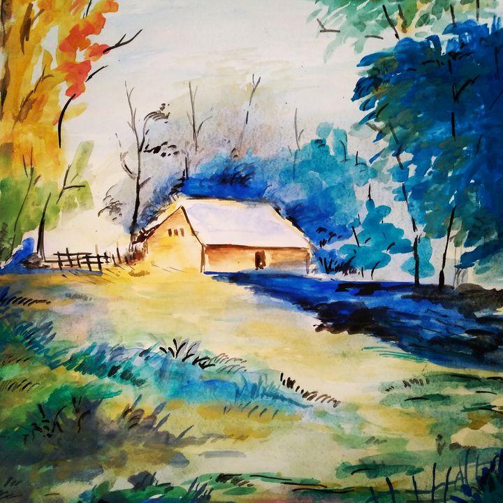 Colorful Landscape - Abhinav