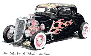 Definition of Hotrod - drawings by GaryD