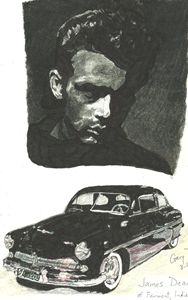 James Dean and Merc