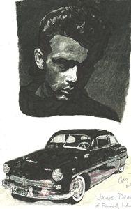 James Dean and Merc