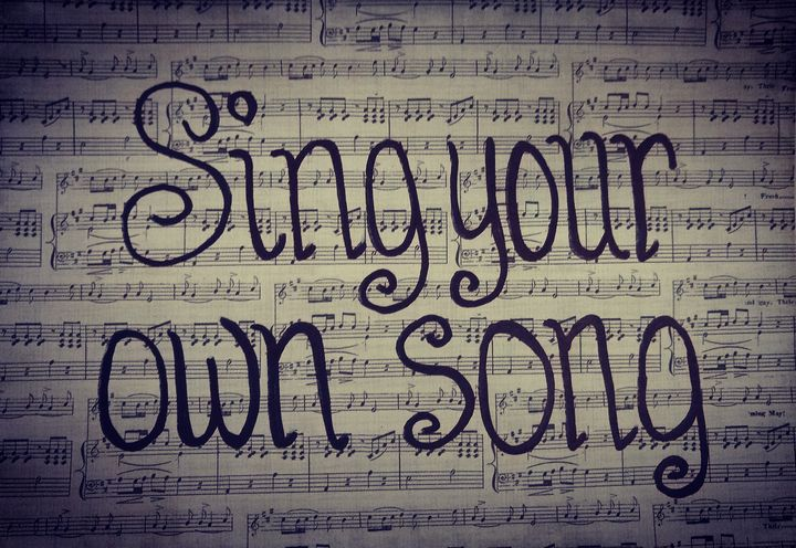 Sing Your Own Song - Ethereal Art