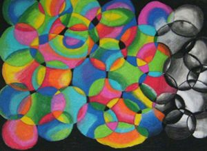 Circles in Pastel - Ethereal Art