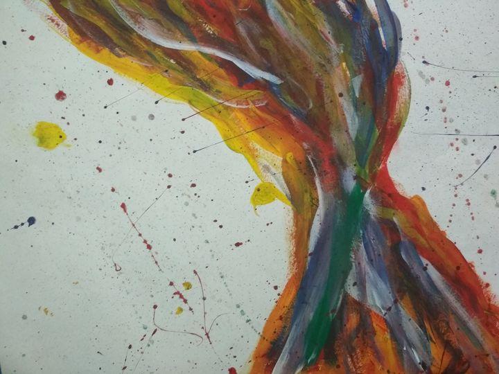 The colors of silent fire - Devansh Baghel