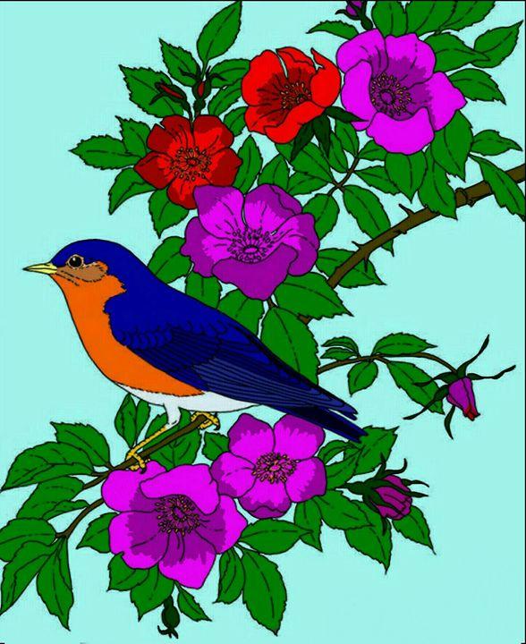 Auburn bird - Groovy Angel