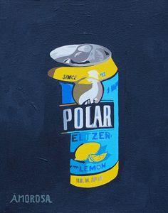 Polar Seltzer Blue