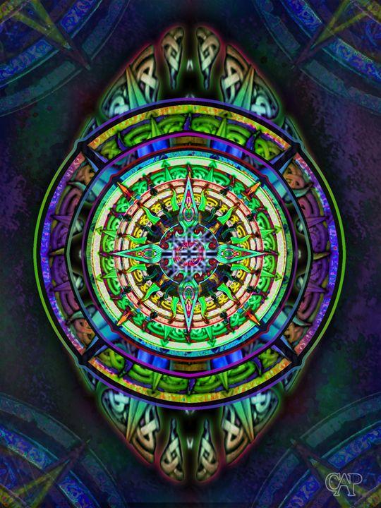 Celtic Knotwork Tapestry Design 3 - capartwork