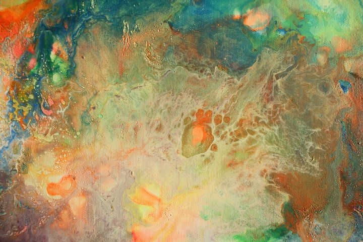 Spillin' Dreamsicle - Mac's Abstracts and Other Goodies