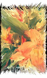 Abstract Lily - Màire Ní Bhroin