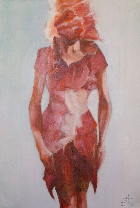 THE MASKED WOMAN - GagikGallery