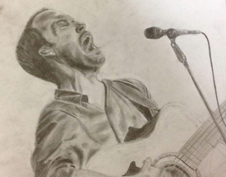Dave Matthews Portrait - Via Stark