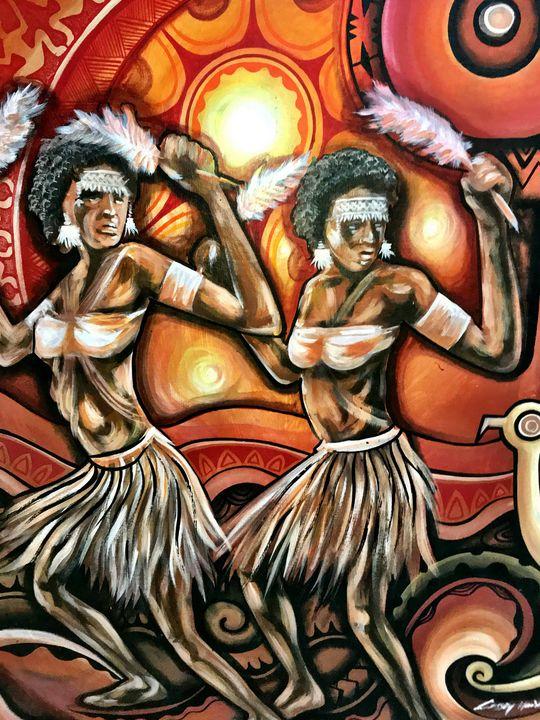 African rythumn - Normads Art Studio