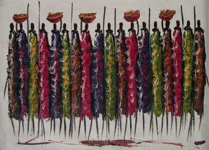 Maasai Tribe - Normads Art Studio