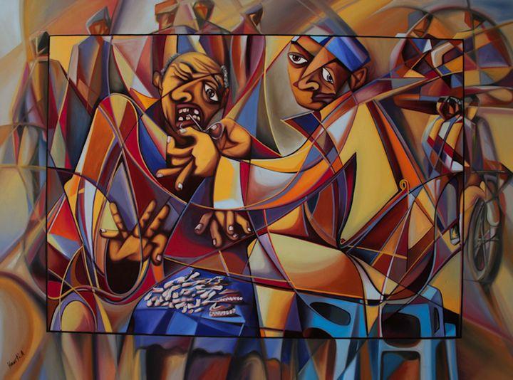 African comic - Normads Art Studio